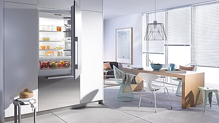 miele frittst ende kombiskap fra miele. Black Bedroom Furniture Sets. Home Design Ideas