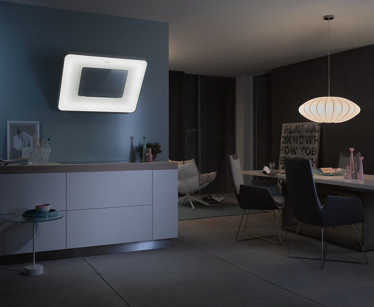 miele da 6996 w pearl dekorventilatorer for vegg. Black Bedroom Furniture Sets. Home Design Ideas